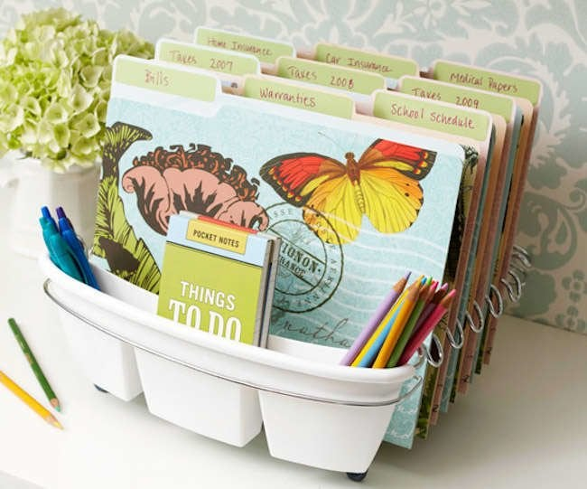 Order in the House: 10 Smart DIY Filing Solutions