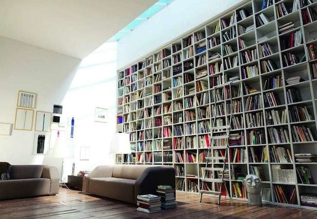 "11 ""Novel"" Ways to Design a Home Library"