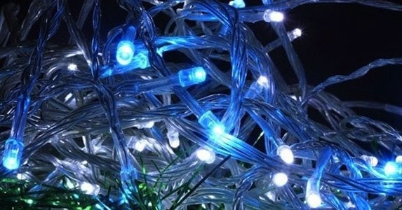 Led holiday lights apartmenttherapy