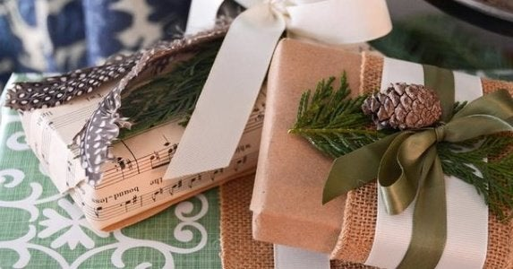 Layered diy gift wrapping rev