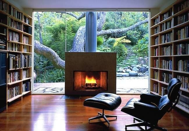 7 Seriously Surprising Spots for a Fireplace