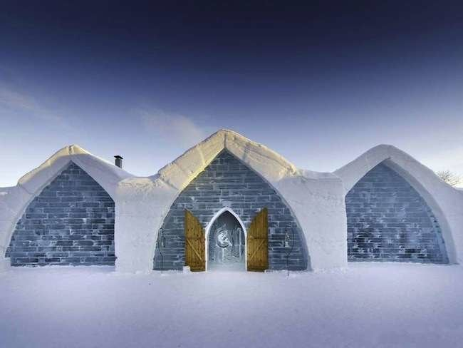 12 Amazing Ice Castles & Igloos from Around the World