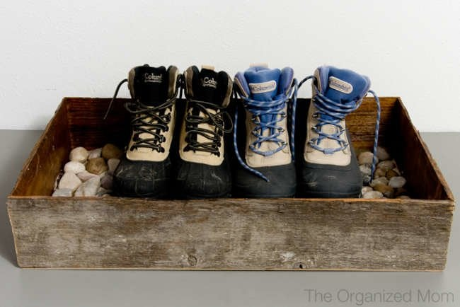 11 Smart Ways to Organize Your Winter Footwear