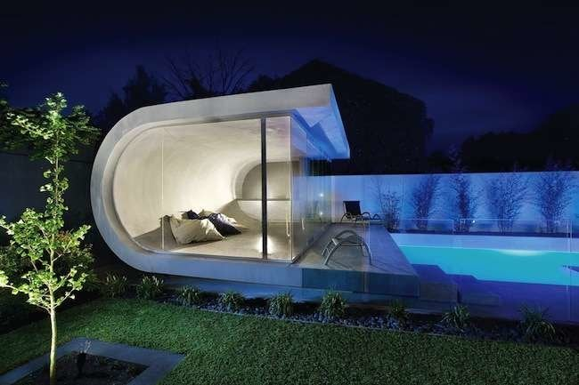 9 Incredibly Cool Pool Houses