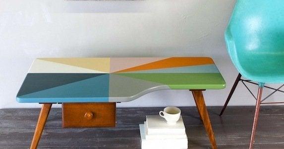 Furniture makeovers   pinwheel after