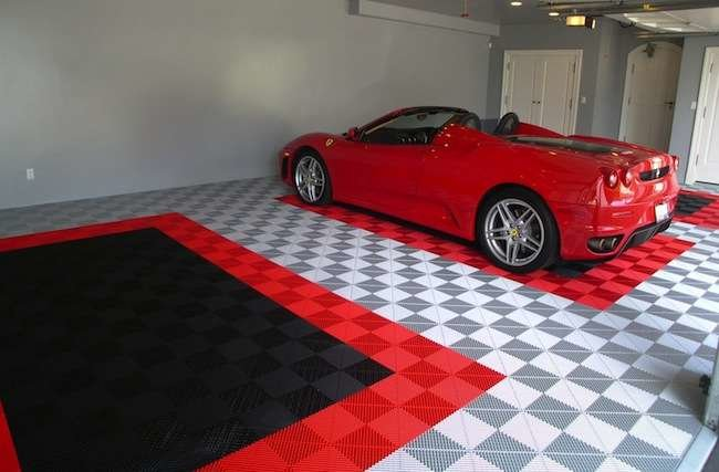8 Easy and Affordable Garage Floor Options