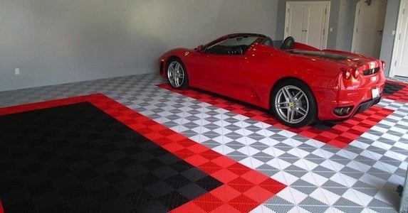 Garage floor tiles are a great way to improve the look of any garage