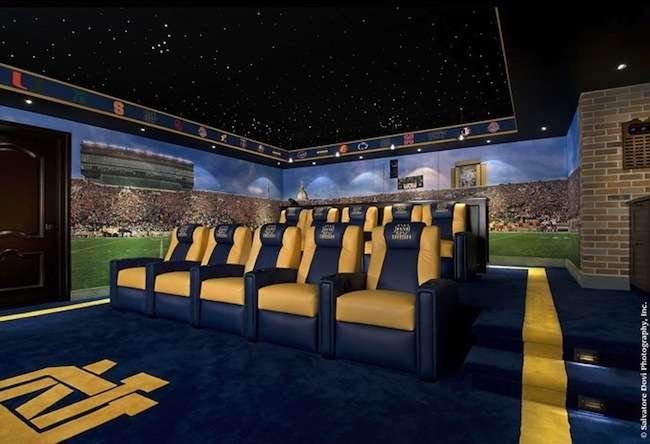 Touchdown! 11 Winning Football Rooms for Fans of All Ages