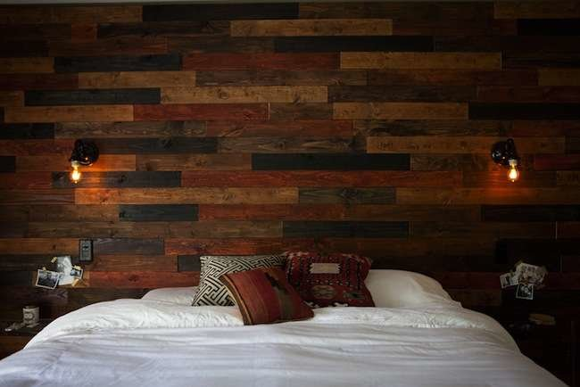 9 DIY Wood Wall Treatments