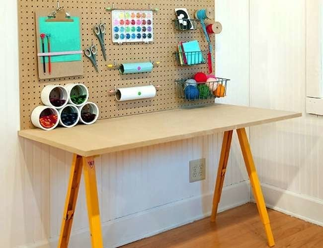 Get to Work! 13 DIY Workbenches, Craft Counters, and Potting Tables