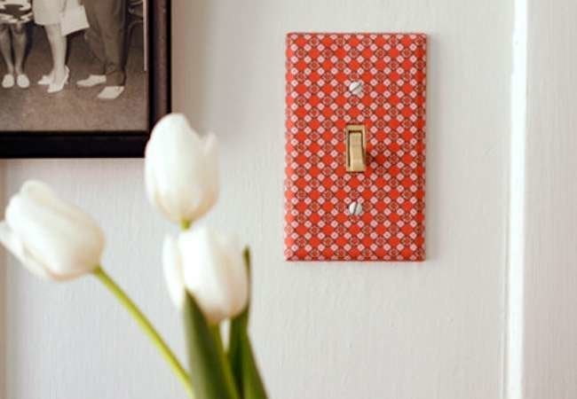 Turn On the Style: 11 DIY Switch Plate Upgrades