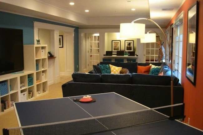 Life Underground: 10 Beautiful Basement Makeovers