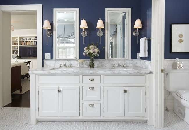 Beyond White: 11 Alternative Hues to Color Your Bath