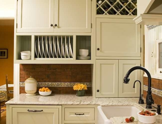 Painted kitchen cabinets kitchen cabinet ideas 10 easy for Diy kitchen cabinets
