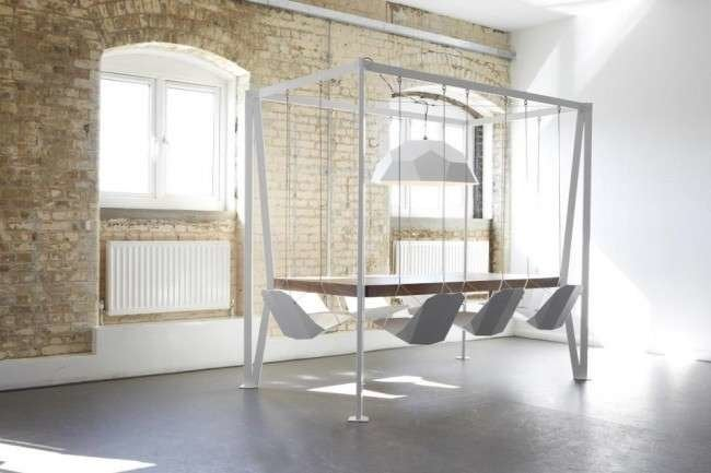 10 Playful Examples of Swinging and Swaying Furniture