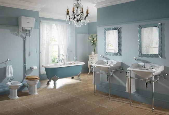 country bathroom ideas - 10 scene-stealing bathrooms - bob vila