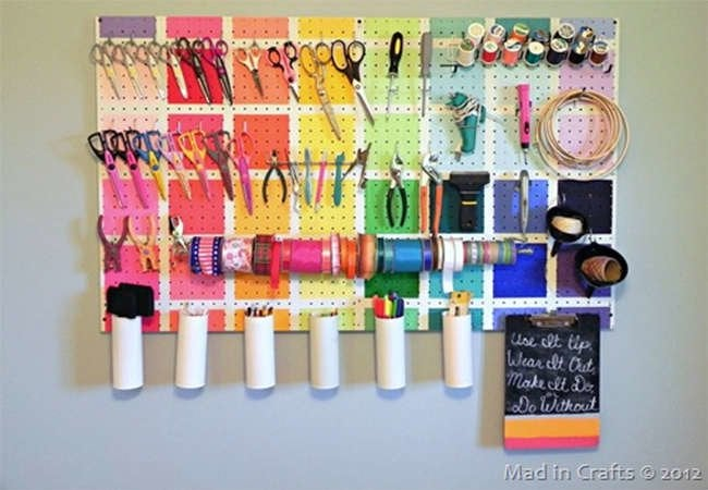 9 Ways to Get on Board with Pegboard