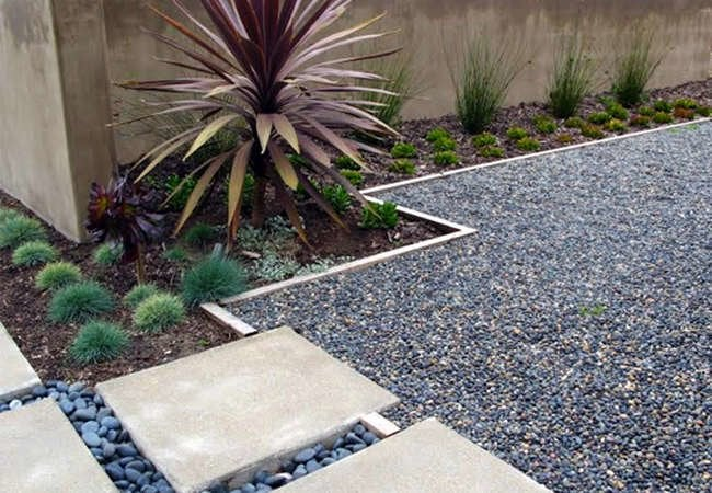 pass on grass 7 reasons to landscape with gravel - Garden Ideas To Replace Grass