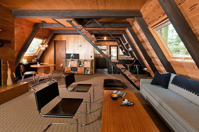 House Tour: 1969 California A-Frame Updated for Today