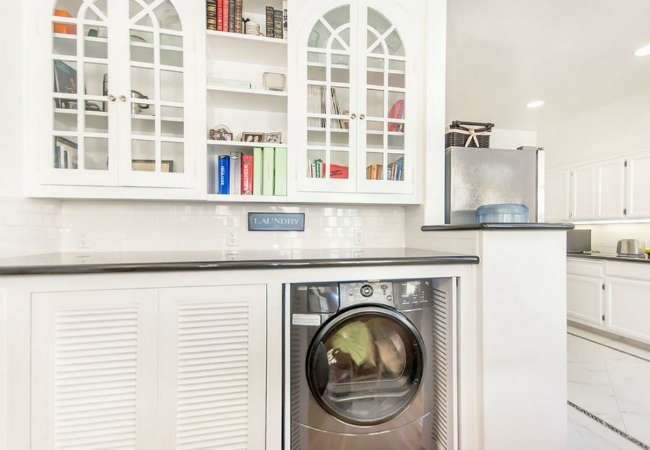 8 (Nearly) Invisible Laundry Rooms