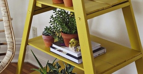 Repurposed ladder uses