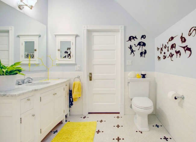 8 Fresh Designs for Kids' Bathrooms