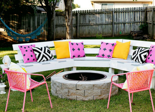 9 Creative Ways To Build A Backyard Hangout