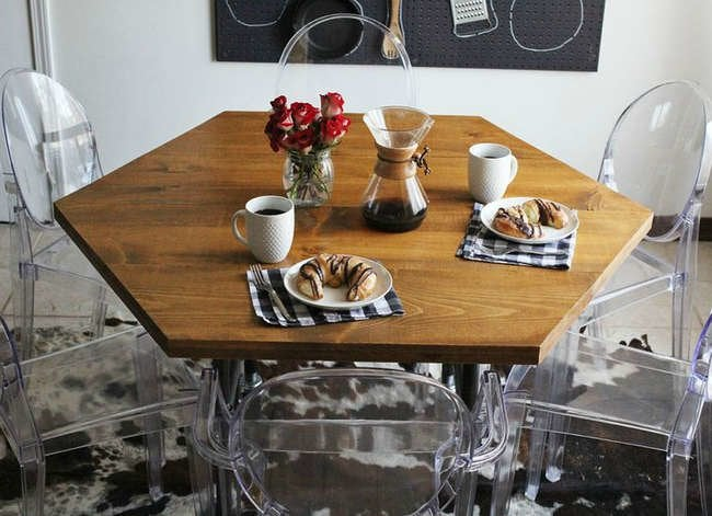 13 Seriously Doable Ways to DIY a Kitchen Table