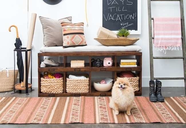 14 Ultrafunctional Ideas to Steal for Your Entryway