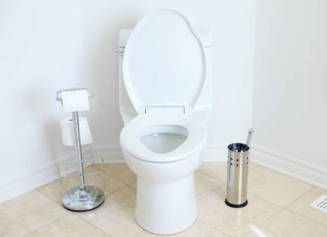 how to fix a clogged toilet 7 ways without a plunger bob vila. Black Bedroom Furniture Sets. Home Design Ideas