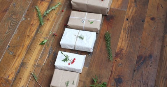 How to wrap a gift   tissue paper