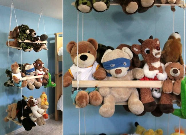 Too Many Toys? 13 Easy DIY Storage Ideas for the Whole House