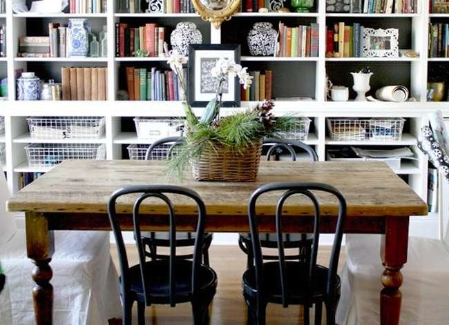 14 Ways to Pull Off a Double-Duty Dining Room