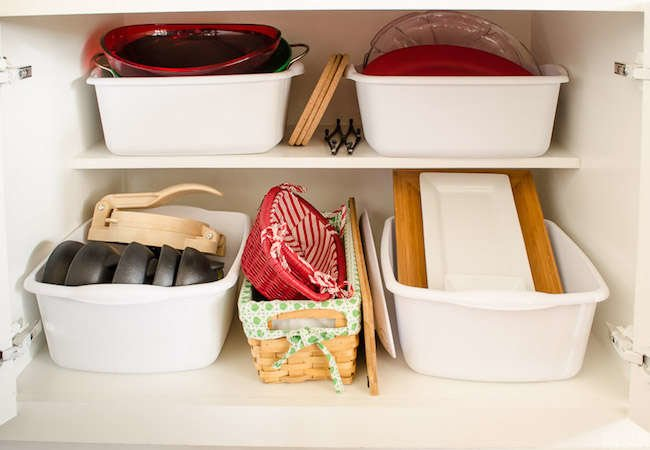 "11 ""Zero Dollar"" Ways to Organize Your Kitchen Cabinets"