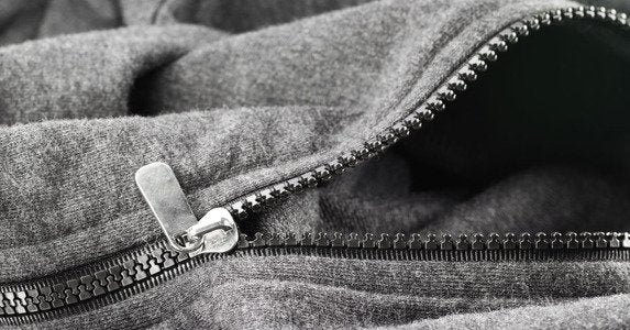 Stuck zipper