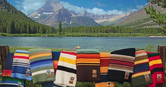 Pendleton blankets national park