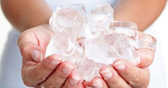 Ice-hands