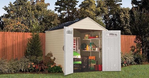 Rubbermaid 7x7 outdoor shed