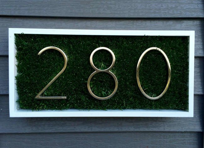 10 New Ways to Display Your House Numbers