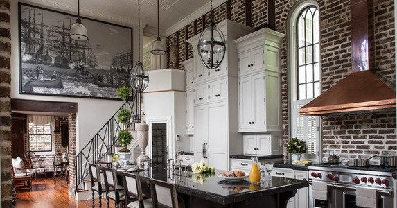 Charleston victorian kitchen