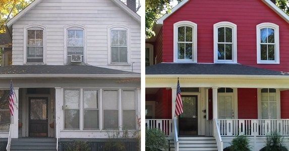 Before after houses