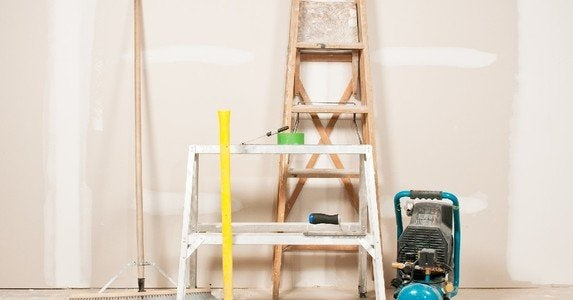 Messy diy projects