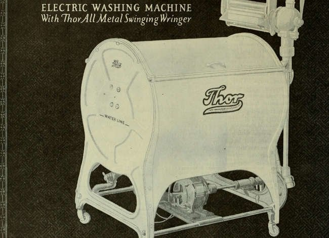Here's What Your Home Appliances Looked Like 100 Years Ago