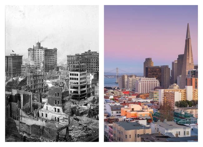 After Disaster: 8 U.S. Cities That Went from Ruin to Rebirth