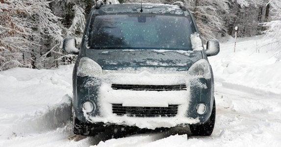 Car snow 7