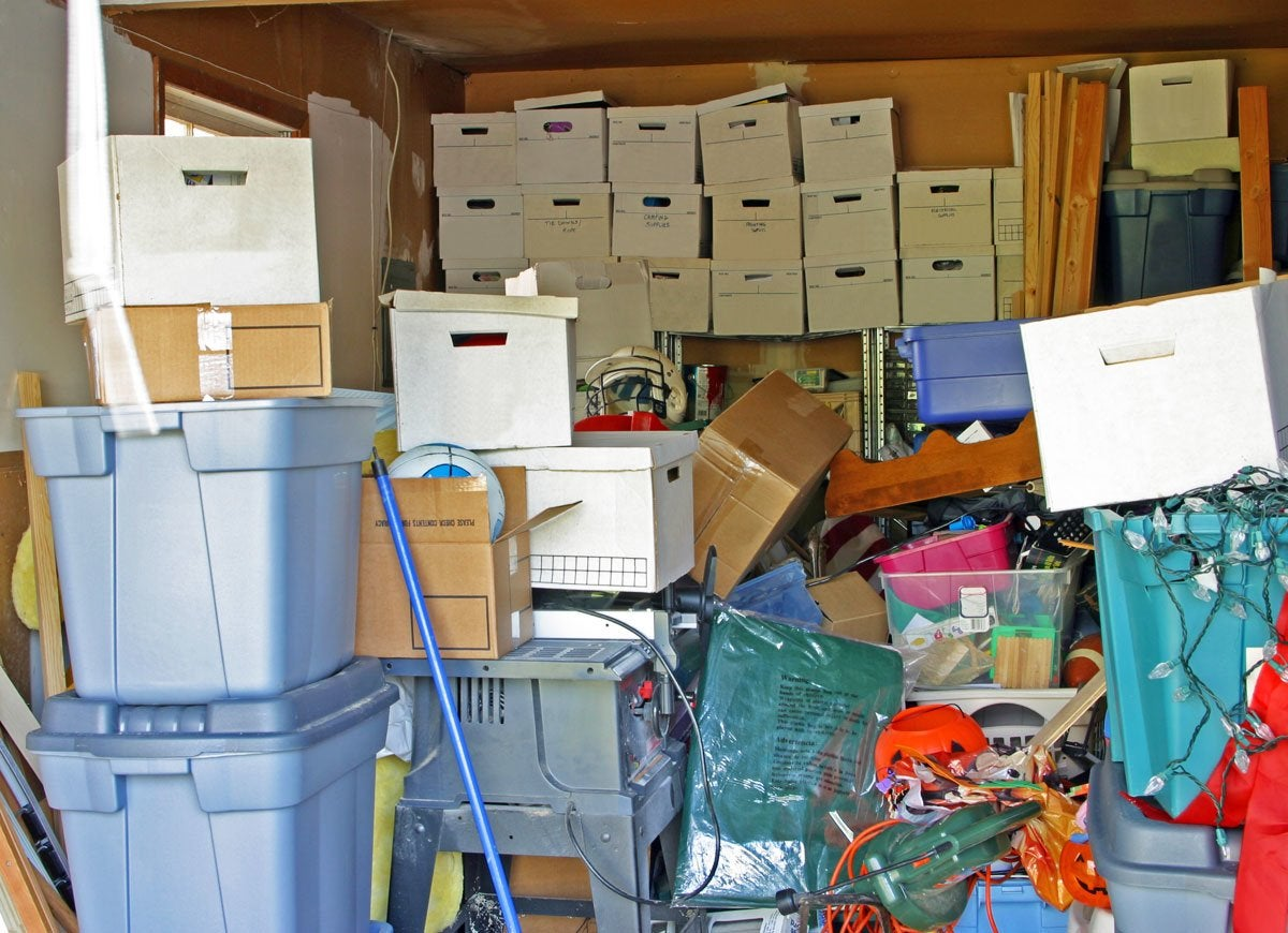 12 Things to Toss ASAP When You Clean Out Your Garage