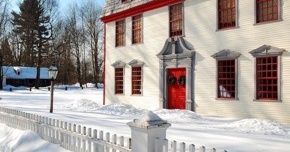 Homes american colonies