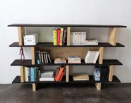 Diy plywood bookcase