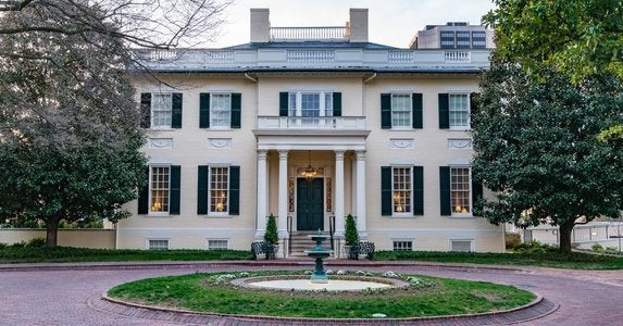 Virginia governors mansion