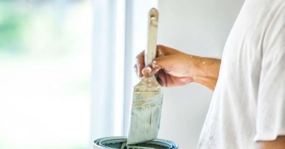 Load paint brush